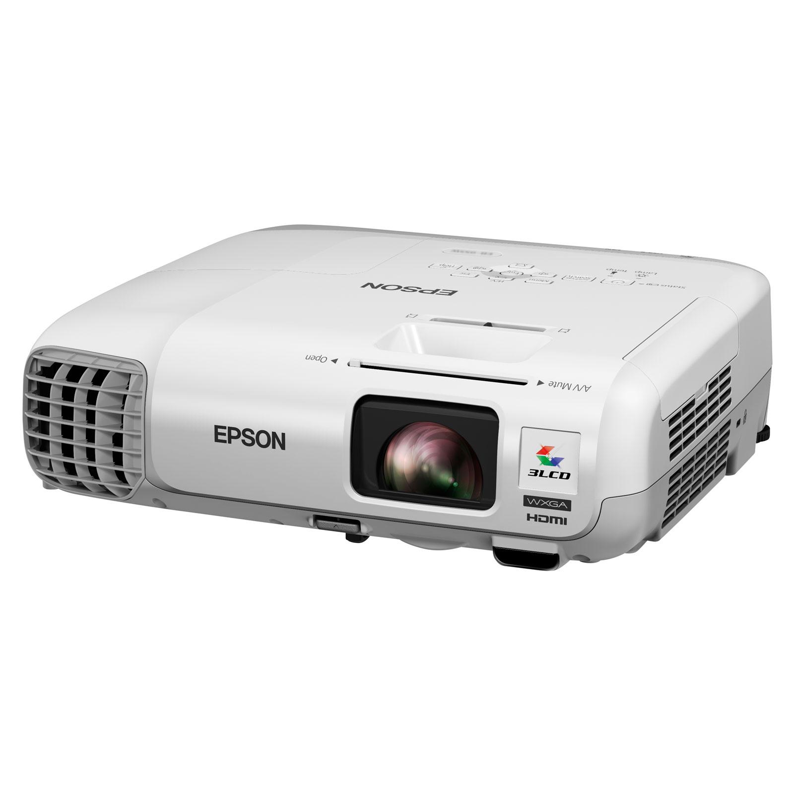Epson eb 955w vid oprojecteur epson sur - Support plafond videoprojecteur epson ...