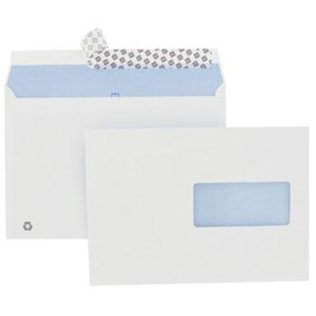 Enveloppes fenetre 80g par 50 avec bande de protection for Enveloppe c4 avec fenetre