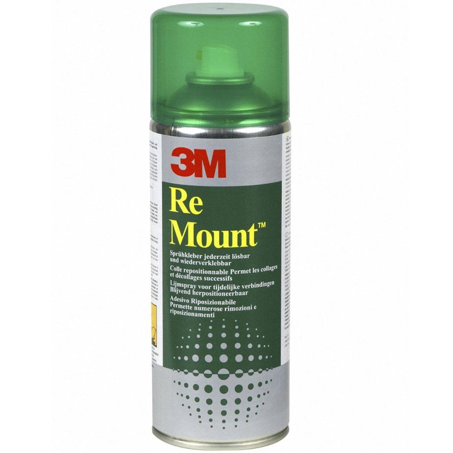 Ruban adhésif & colle 3M Re Mount Bombe de colle repositionnable
