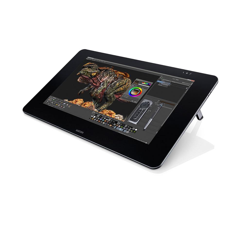 wacom cintiq 27qhd creative pen display tablette graphique wacom sur. Black Bedroom Furniture Sets. Home Design Ideas