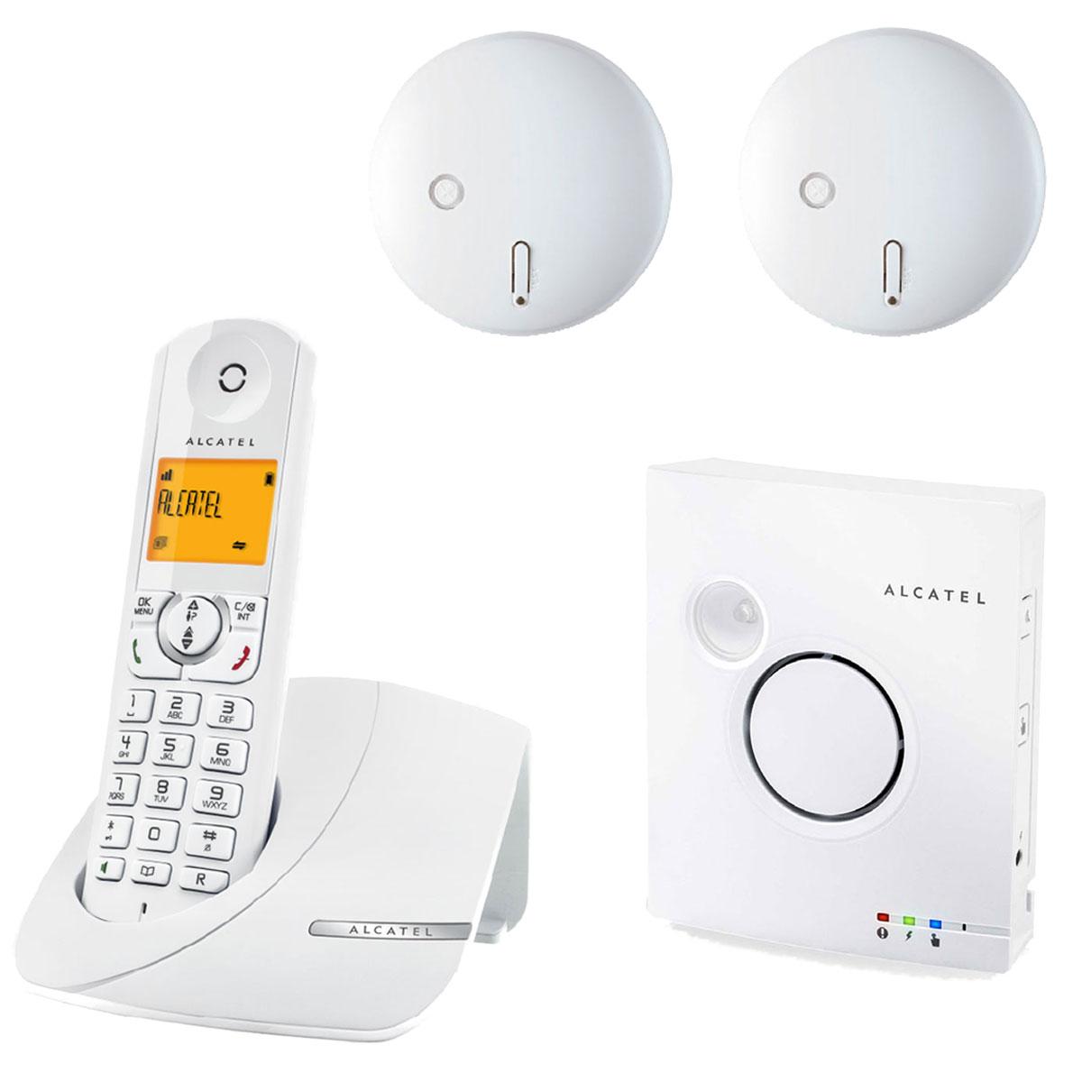 alcatel phone alert incendie alcatel d tecteur de fum e centrale multifonction alcatel sur. Black Bedroom Furniture Sets. Home Design Ideas