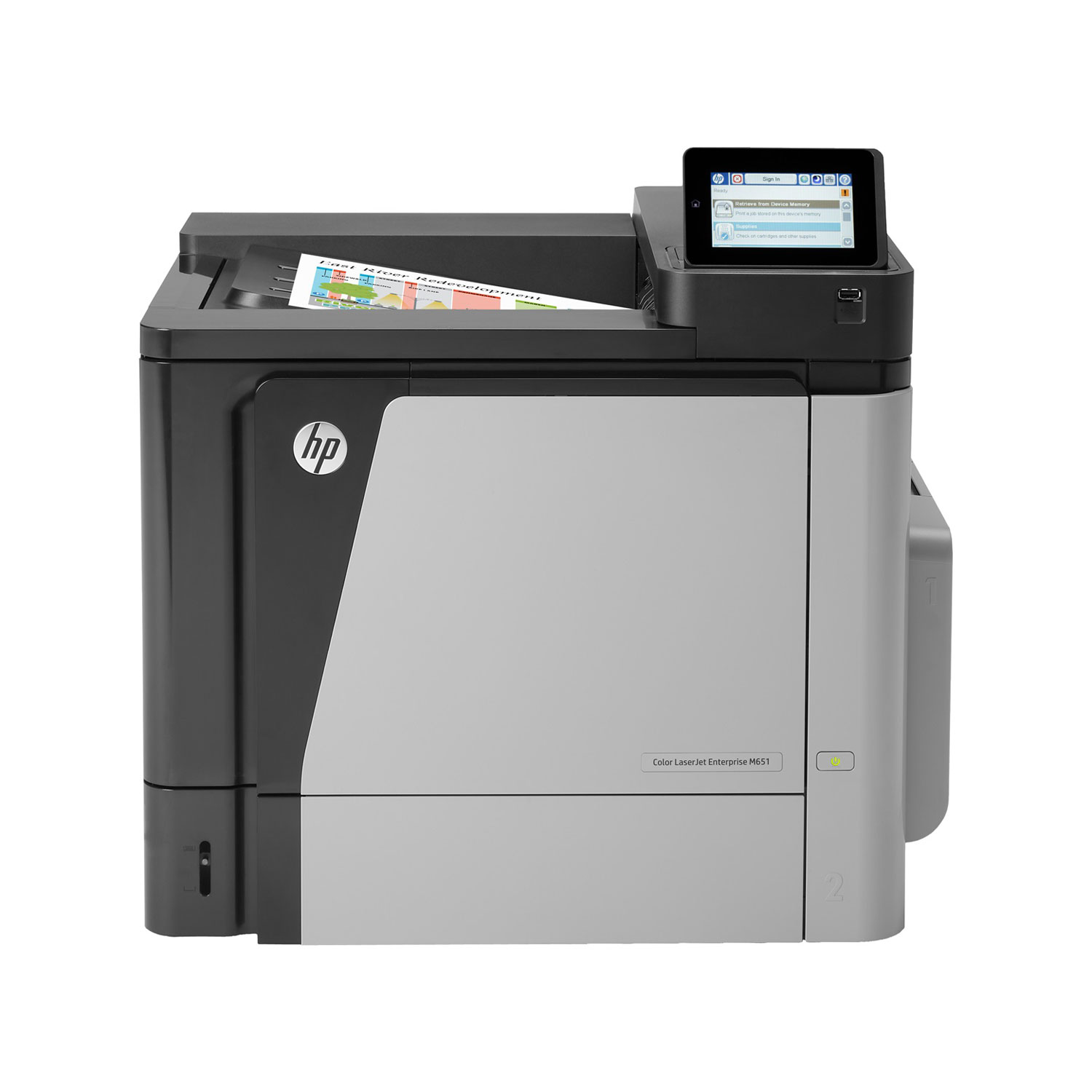 hp color laserjet enterprise m651dn imprimante laser hp sur. Black Bedroom Furniture Sets. Home Design Ideas