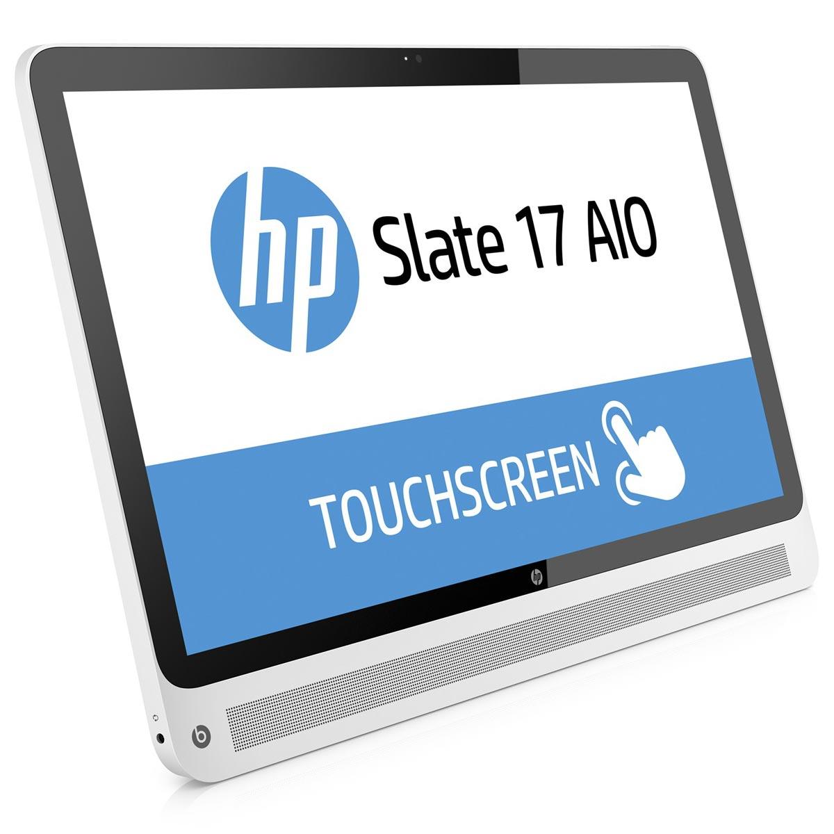 hp slate all in one 17 l000nf tablette tactile hp sur ldlc. Black Bedroom Furniture Sets. Home Design Ideas