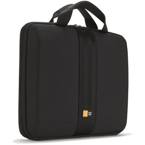 """Sac, sacoche, housse Case Logic QNS-113 Sacoche à coque semi-rigide et rembourrée pour ordinateur portable (jusqu'à 13.3"""")"""