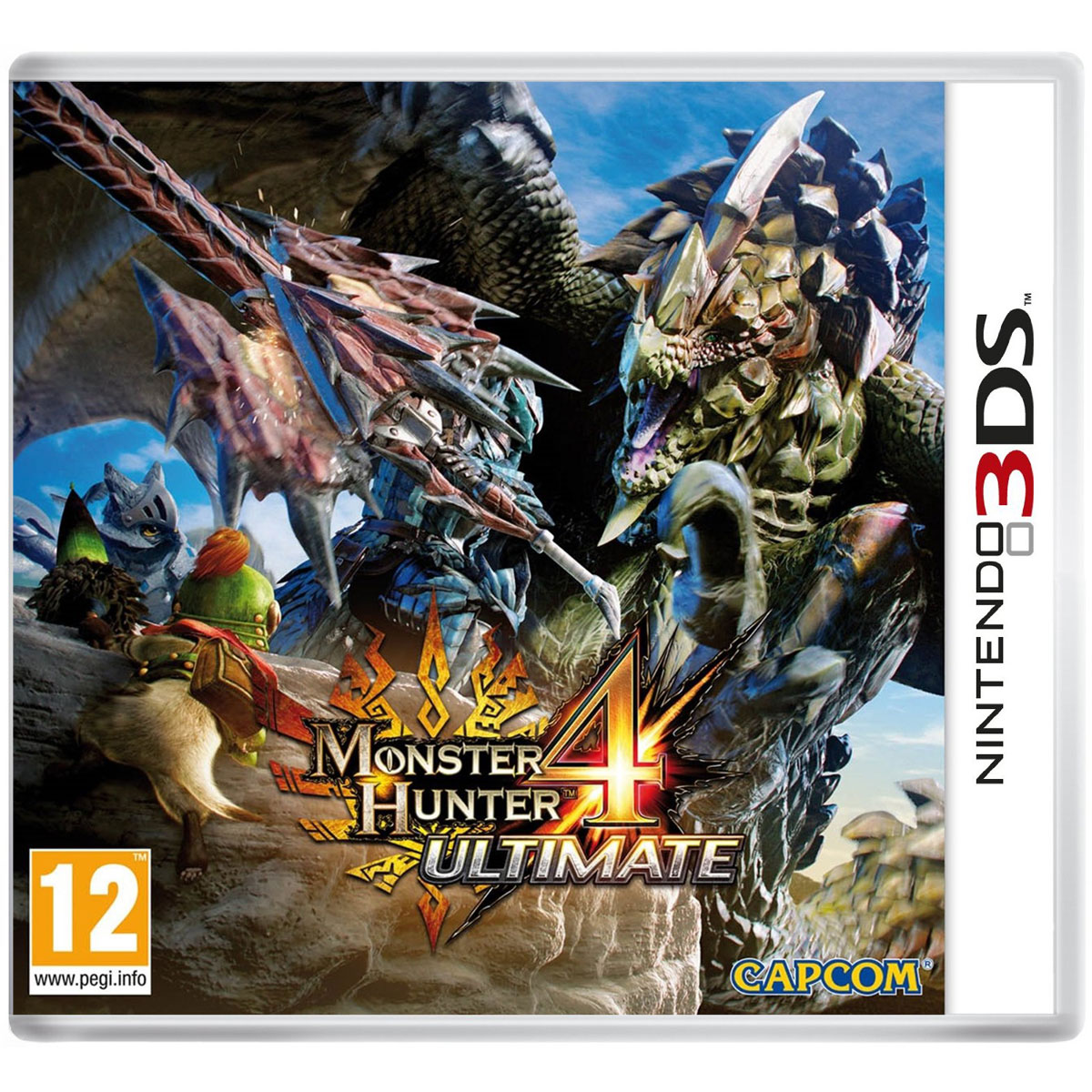 Jeux Nintendo 3DS Monster Hunter 4 Ultimate (Nintendo 3DS/2DS) Monster Hunter 4 Ultimate (Nintendo 3DS/2DS)