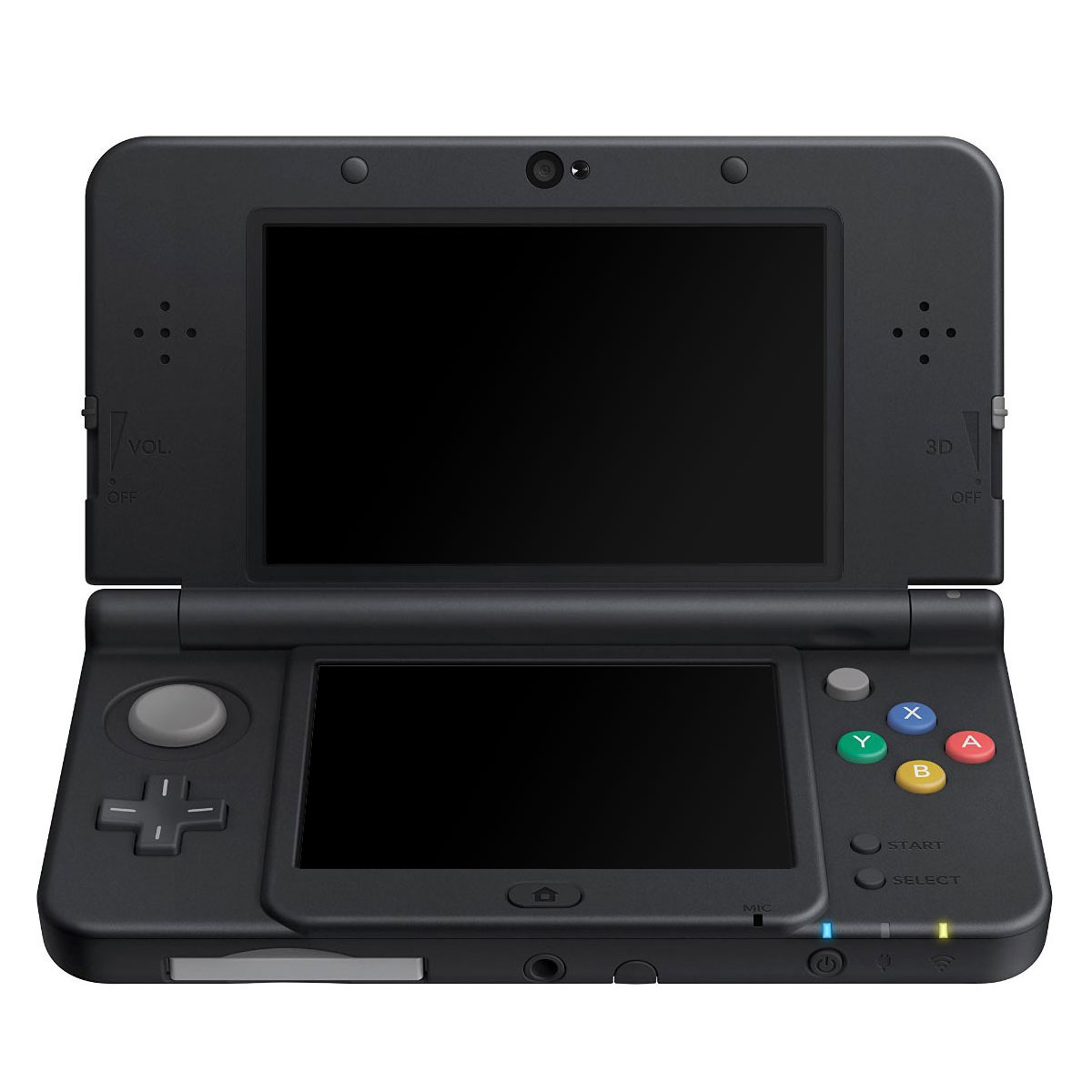 nintendo new 3ds noire console nintendo 3ds nintendo. Black Bedroom Furniture Sets. Home Design Ideas