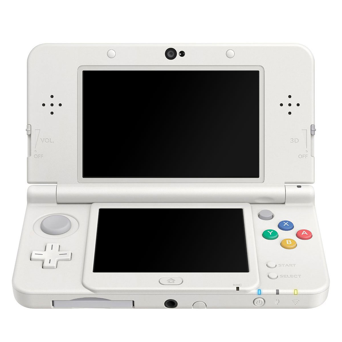 nintendo new 3ds blanche console nintendo 3ds nintendo. Black Bedroom Furniture Sets. Home Design Ideas
