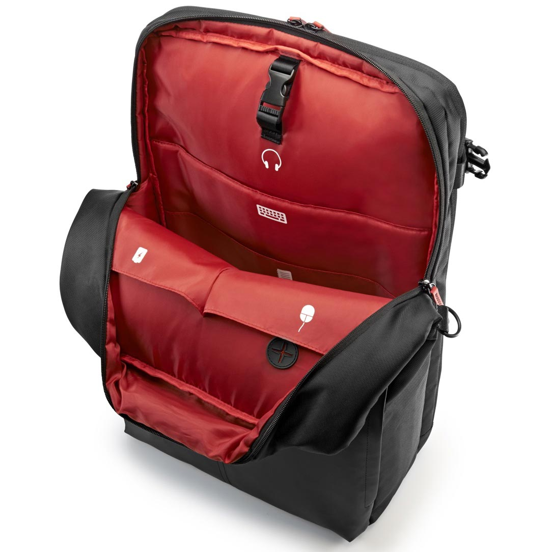hp omen gaming backpack sac sacoche housse hp sur. Black Bedroom Furniture Sets. Home Design Ideas