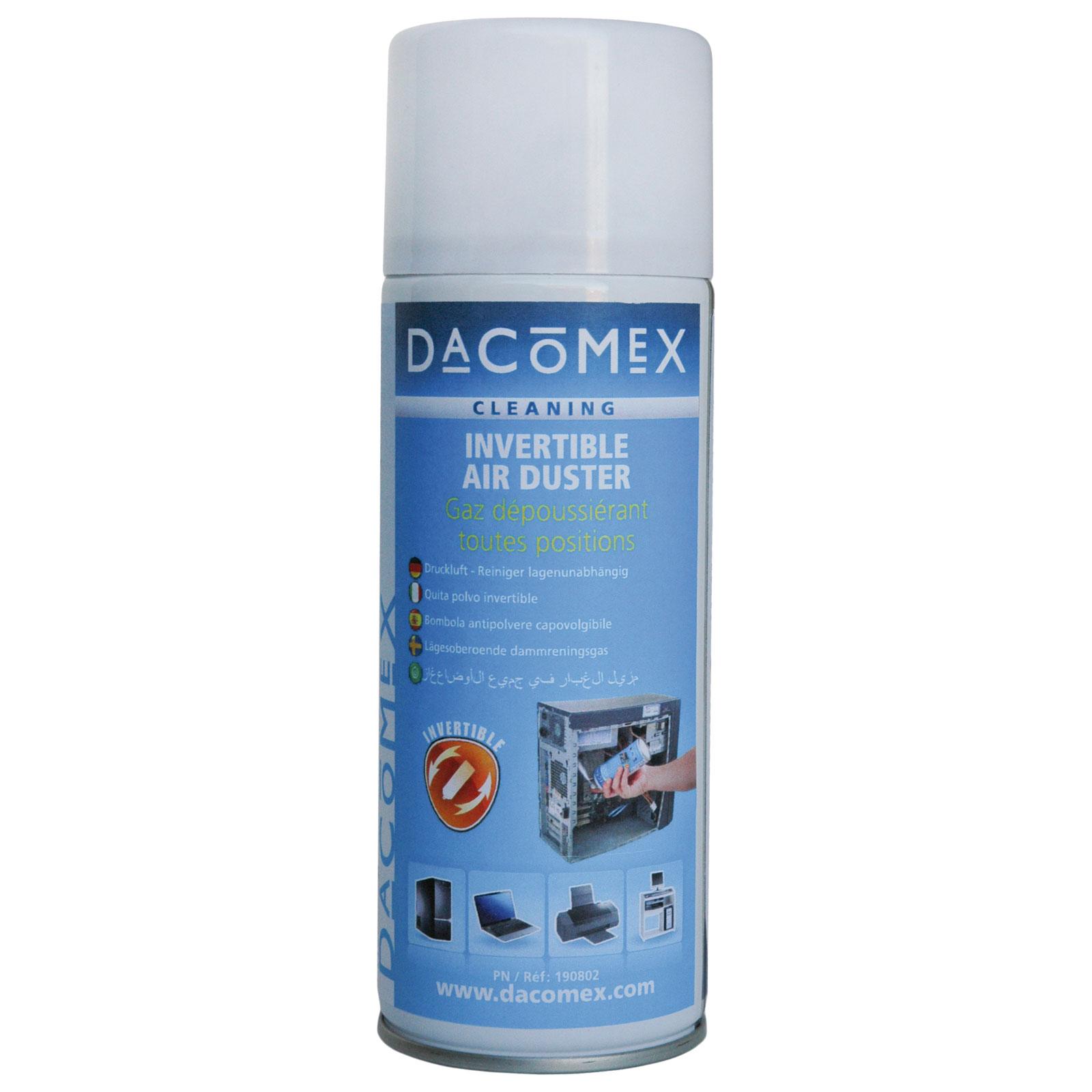 dacomex bombe d poussi rante multiposition air comprim 150 g a rosol dacomex sur. Black Bedroom Furniture Sets. Home Design Ideas
