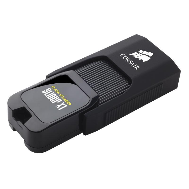 Clé USB Corsair Flash Voyager Slider X1 USB 3.0 64 Go Clé USB 3.0 64 Go (garantie constructeur 5 ans)
