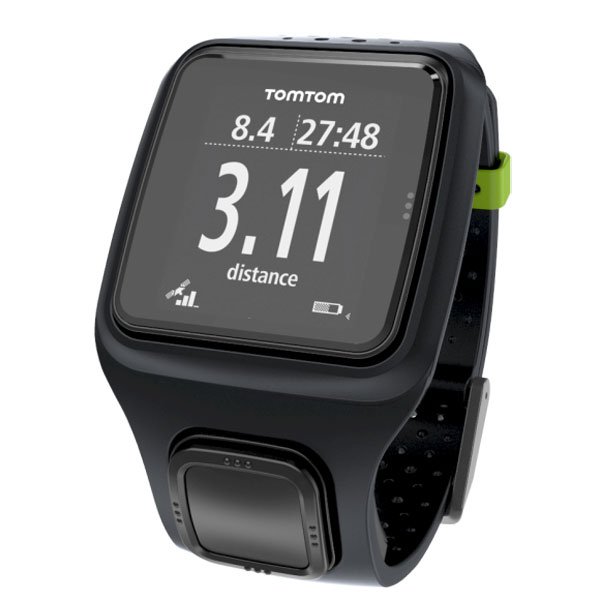 tomtom runner gps noir montre running tomtom sur. Black Bedroom Furniture Sets. Home Design Ideas