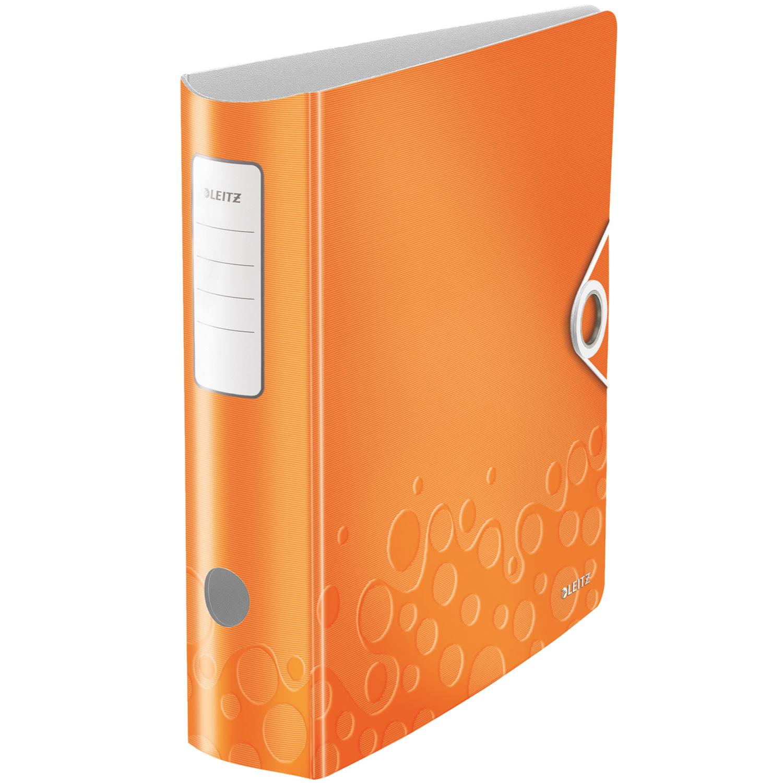 leitz classeur levier 180 wow orange classeur leitz sur. Black Bedroom Furniture Sets. Home Design Ideas