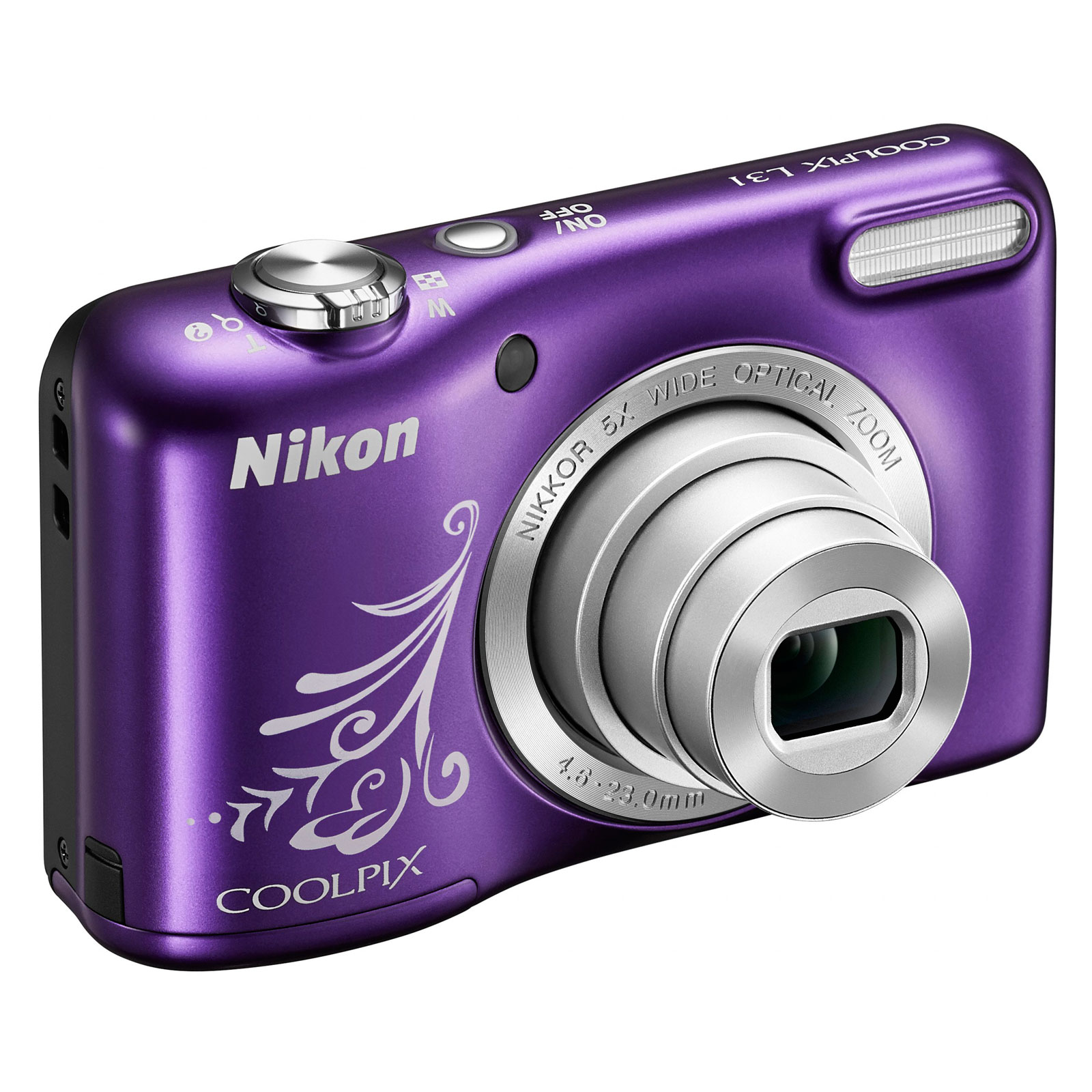 nikon coolpix l31 violet line art appareil photo. Black Bedroom Furniture Sets. Home Design Ideas