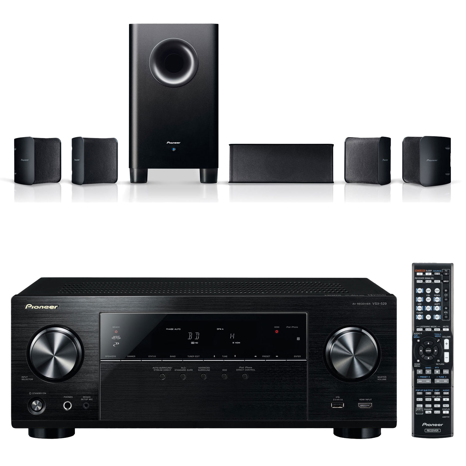 Pioneer vsx 529 k pioneer s hs100 ensemble home cin ma pioneer sur ldlc - Ensemble tv home cinema ...