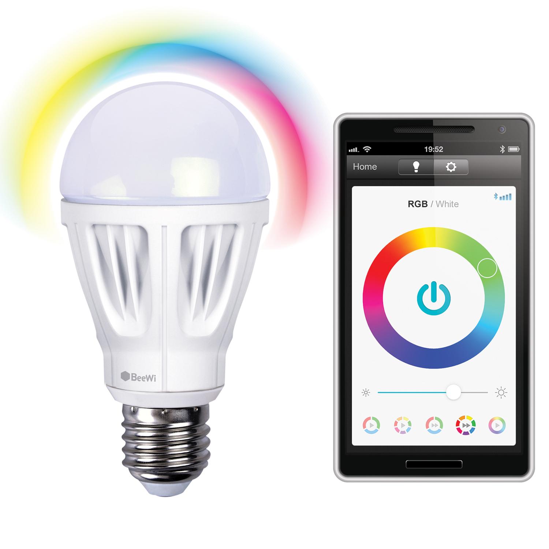 beewi ampoule led multicolore connect e accessoires divers smartphone beewi sur. Black Bedroom Furniture Sets. Home Design Ideas