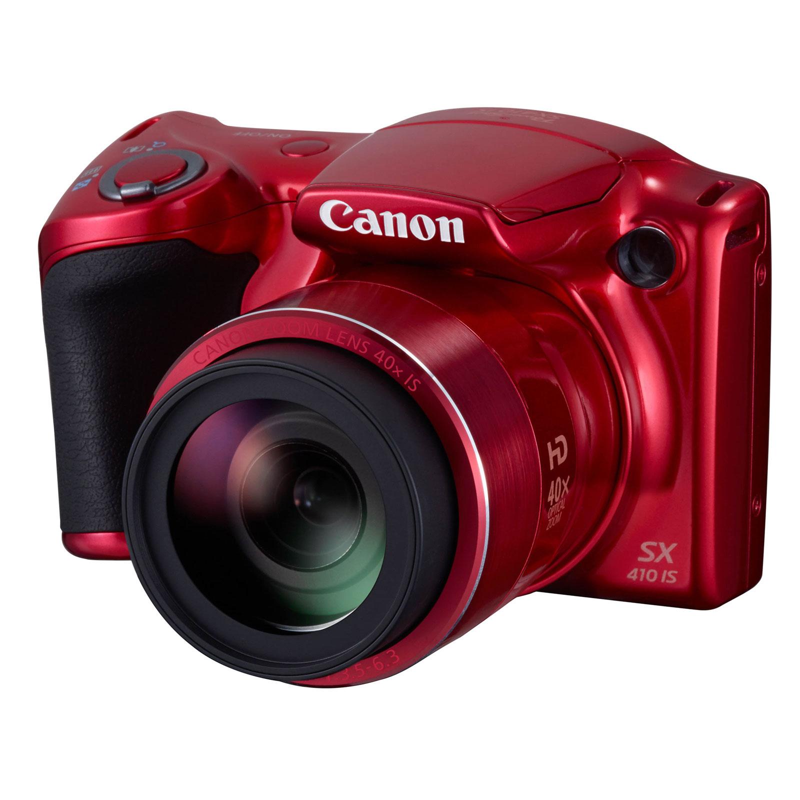 canon powershot sx410 is rouge appareil photo num rique. Black Bedroom Furniture Sets. Home Design Ideas