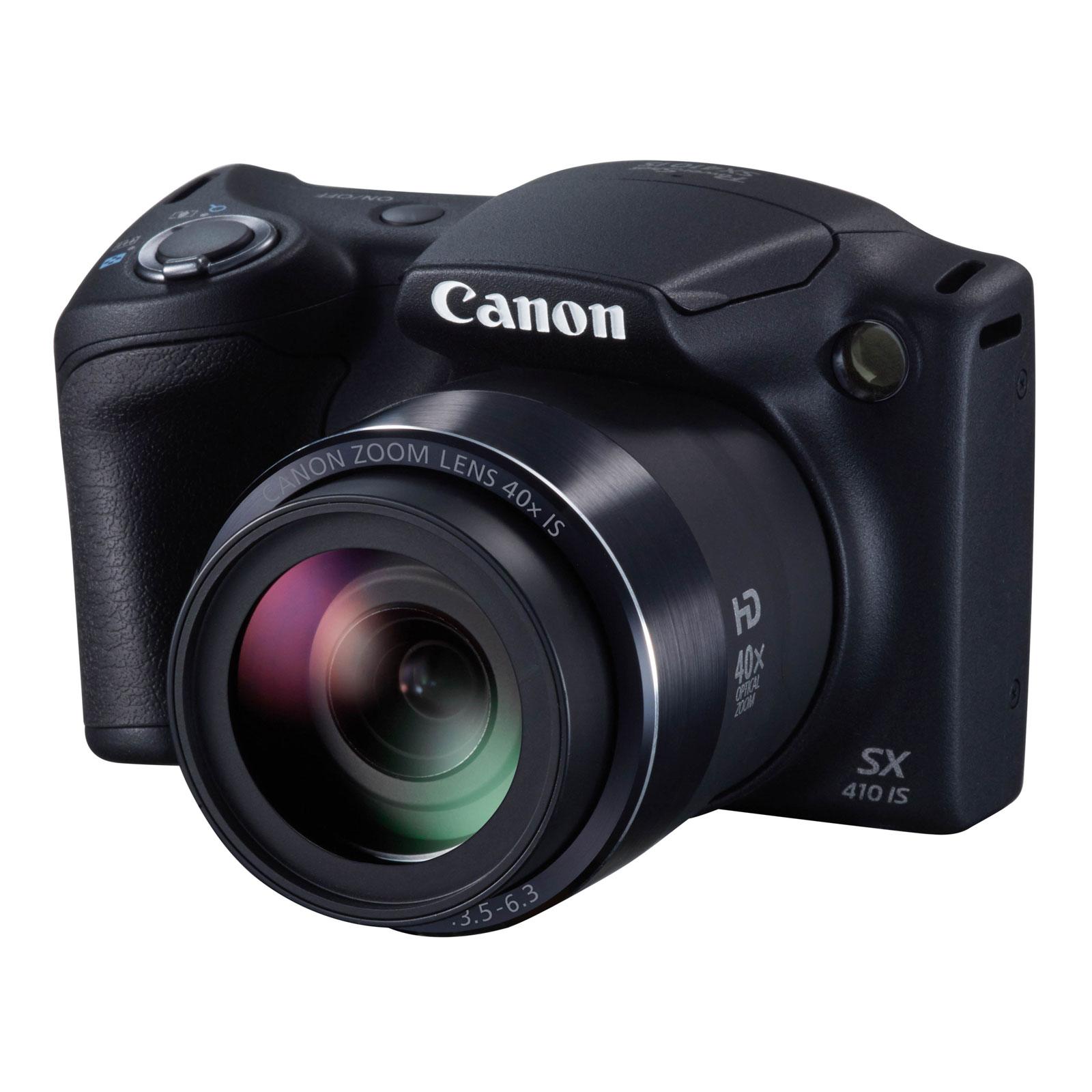 canon powershot sx410 is noir appareil photo num rique canon sur. Black Bedroom Furniture Sets. Home Design Ideas