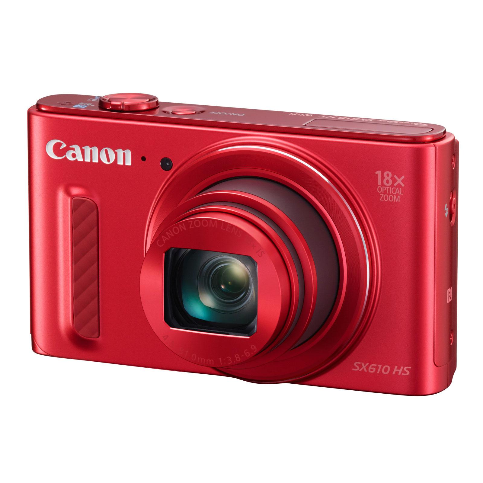 canon powershot sx610 hs rouge appareil photo num rique canon sur. Black Bedroom Furniture Sets. Home Design Ideas