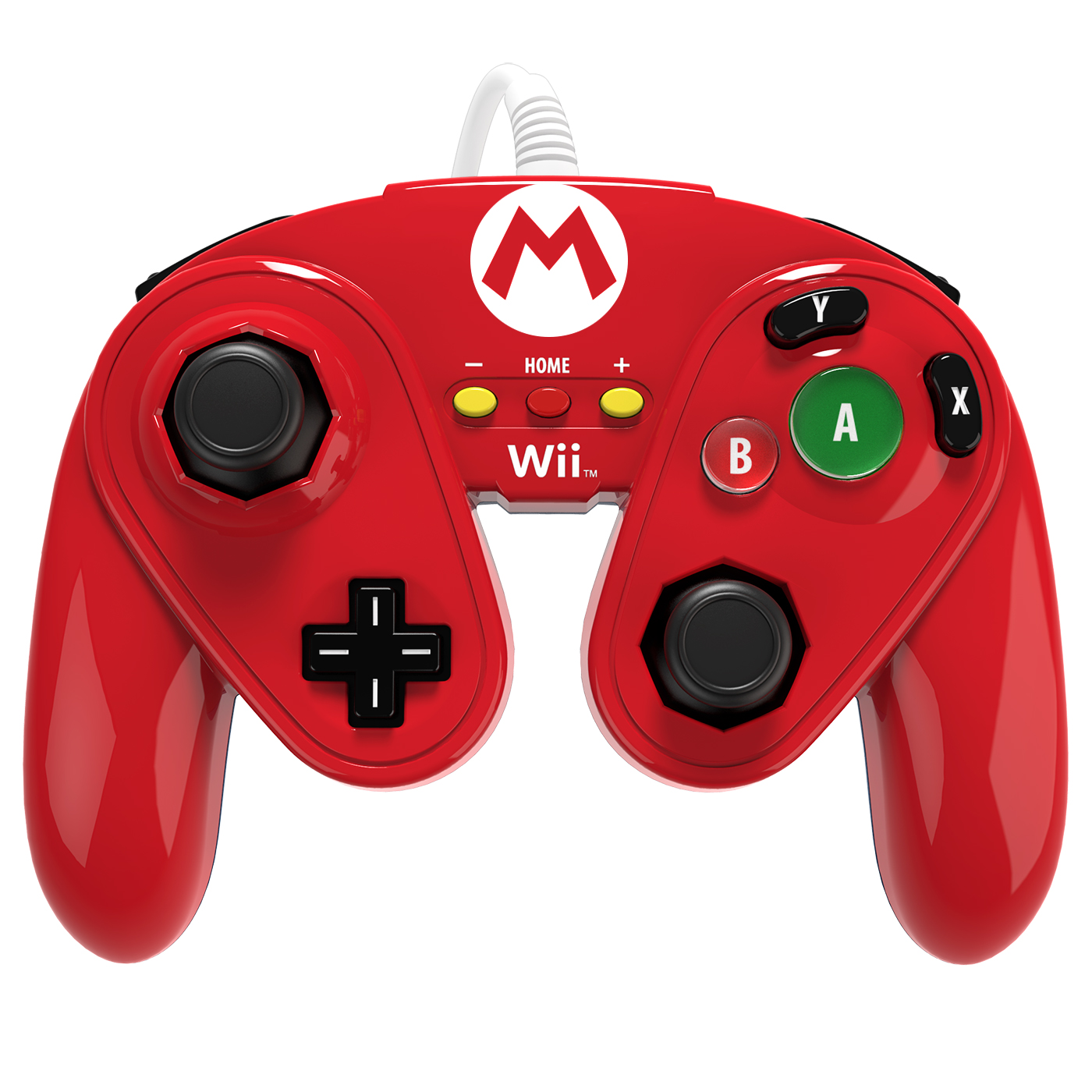 pdp wired fight pad mario accessoires wii u pdp sur. Black Bedroom Furniture Sets. Home Design Ideas