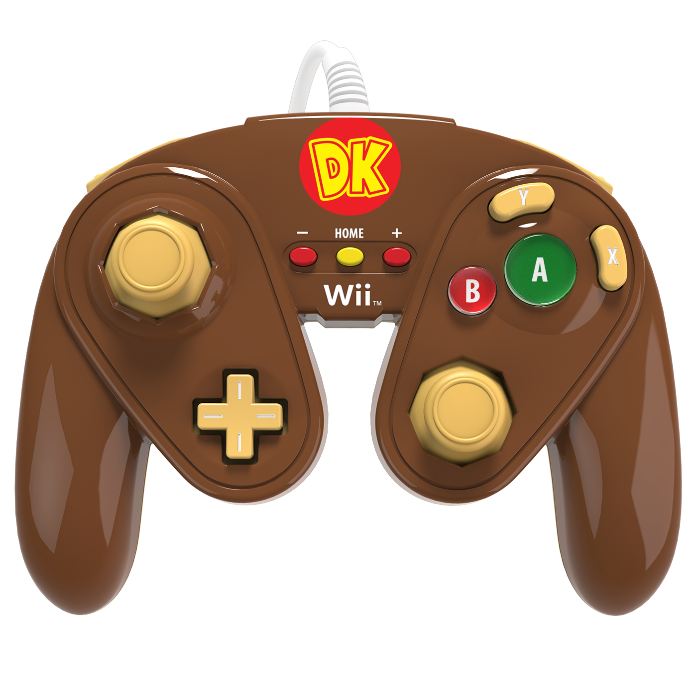 pdp wired fight pad donkey kong accessoires wii u pdp. Black Bedroom Furniture Sets. Home Design Ideas