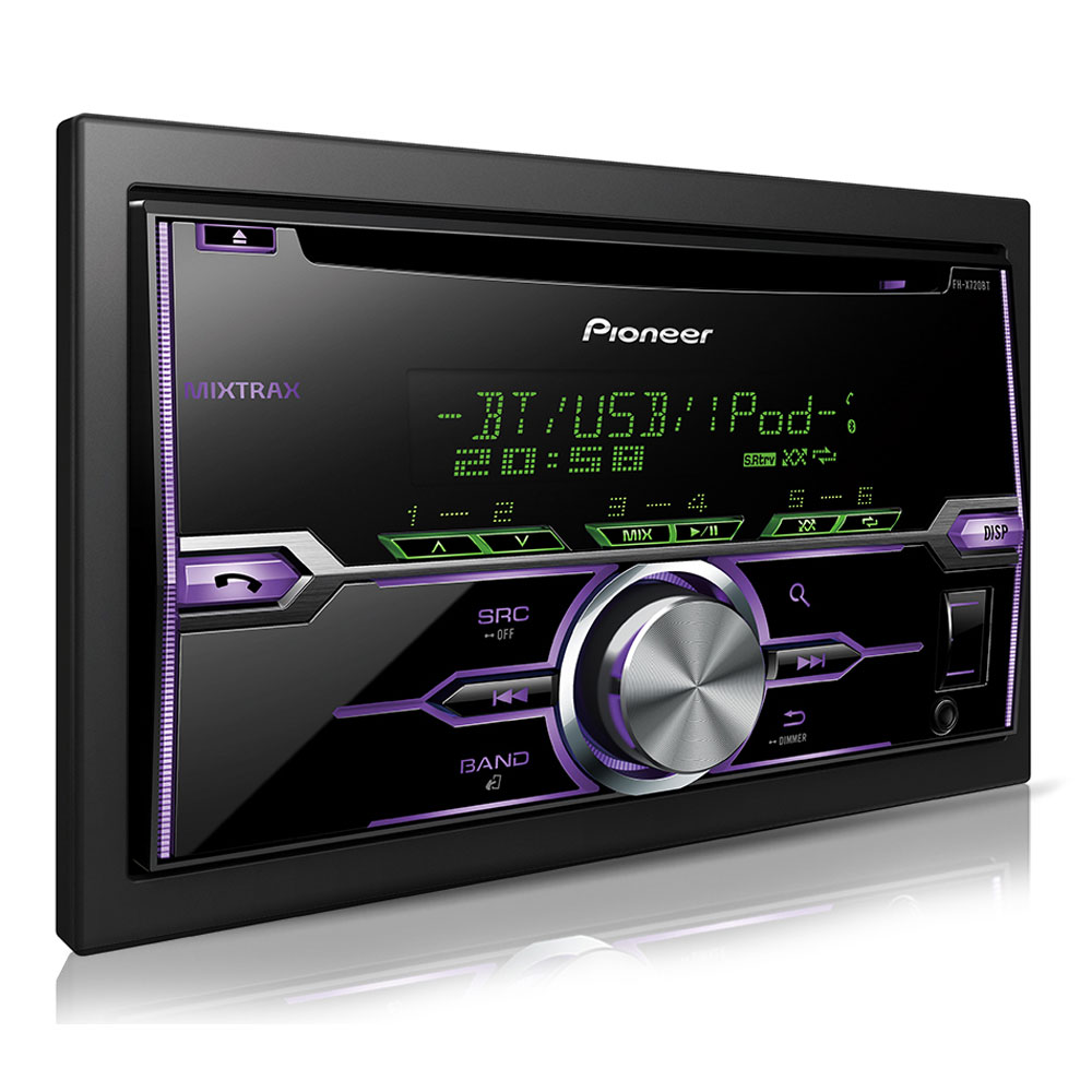 pioneer fh x720bt autoradio pioneer sur. Black Bedroom Furniture Sets. Home Design Ideas