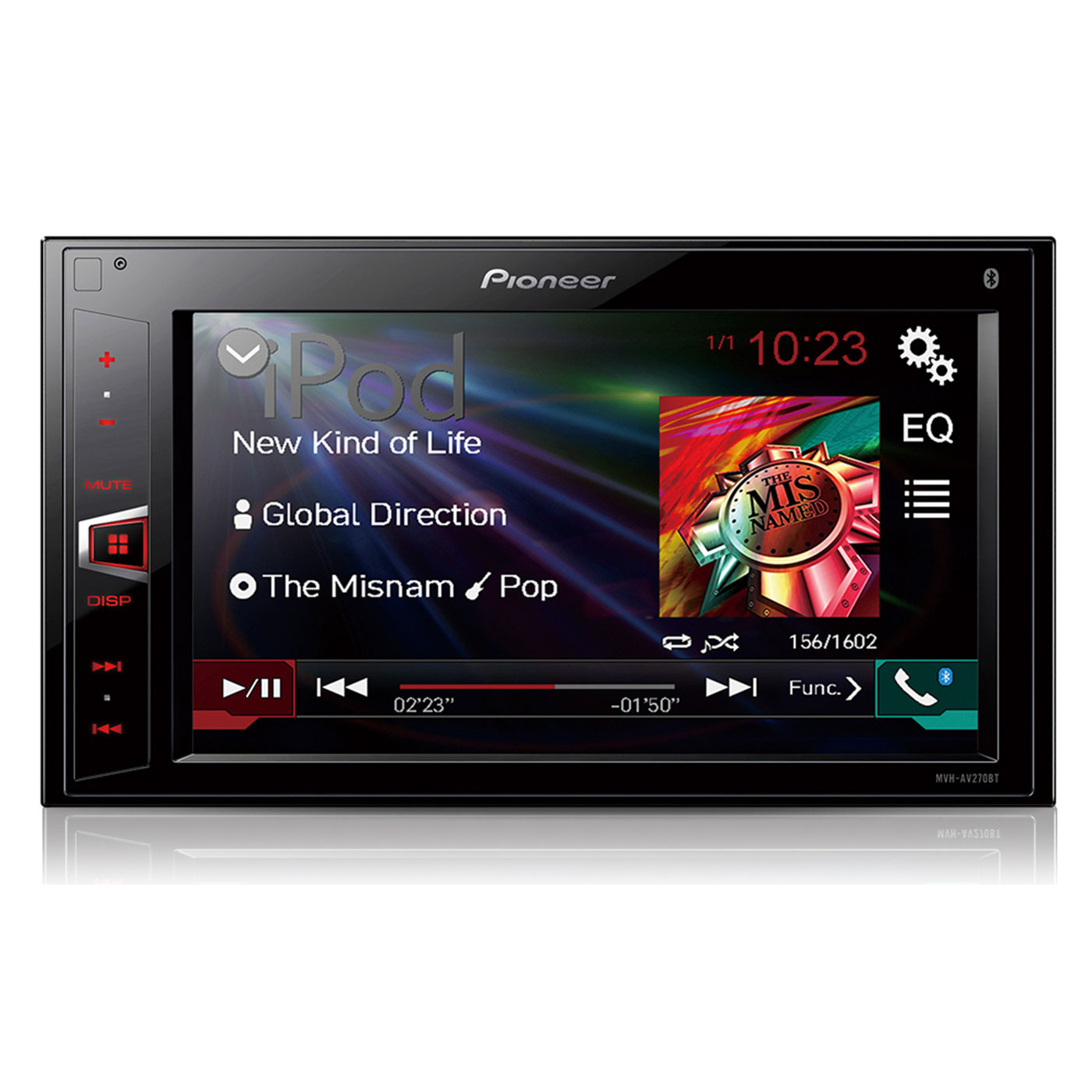 pioneer mvh av270bt autoradio pioneer sur. Black Bedroom Furniture Sets. Home Design Ideas