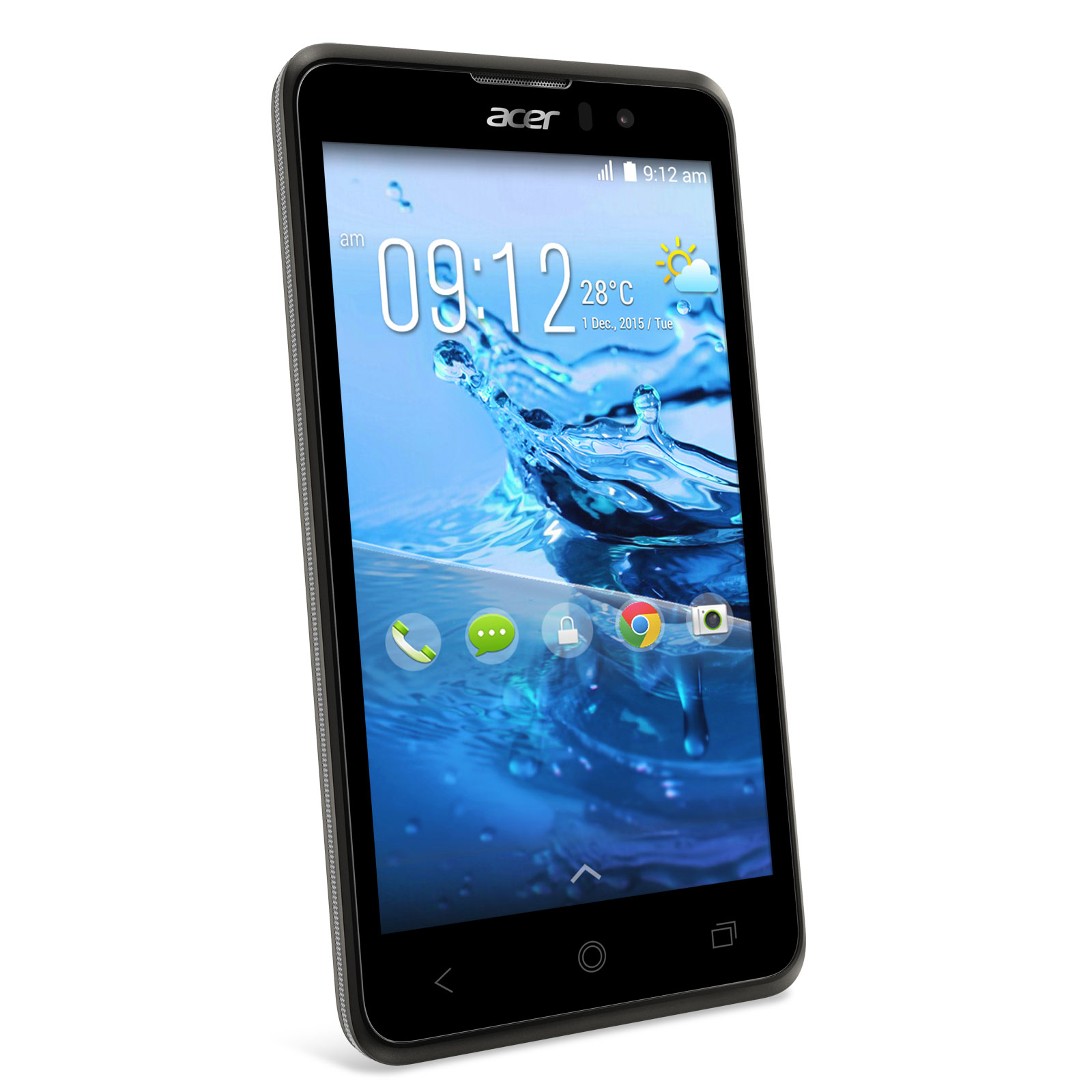 acer liquid z520 noir mobile smartphone acer sur. Black Bedroom Furniture Sets. Home Design Ideas