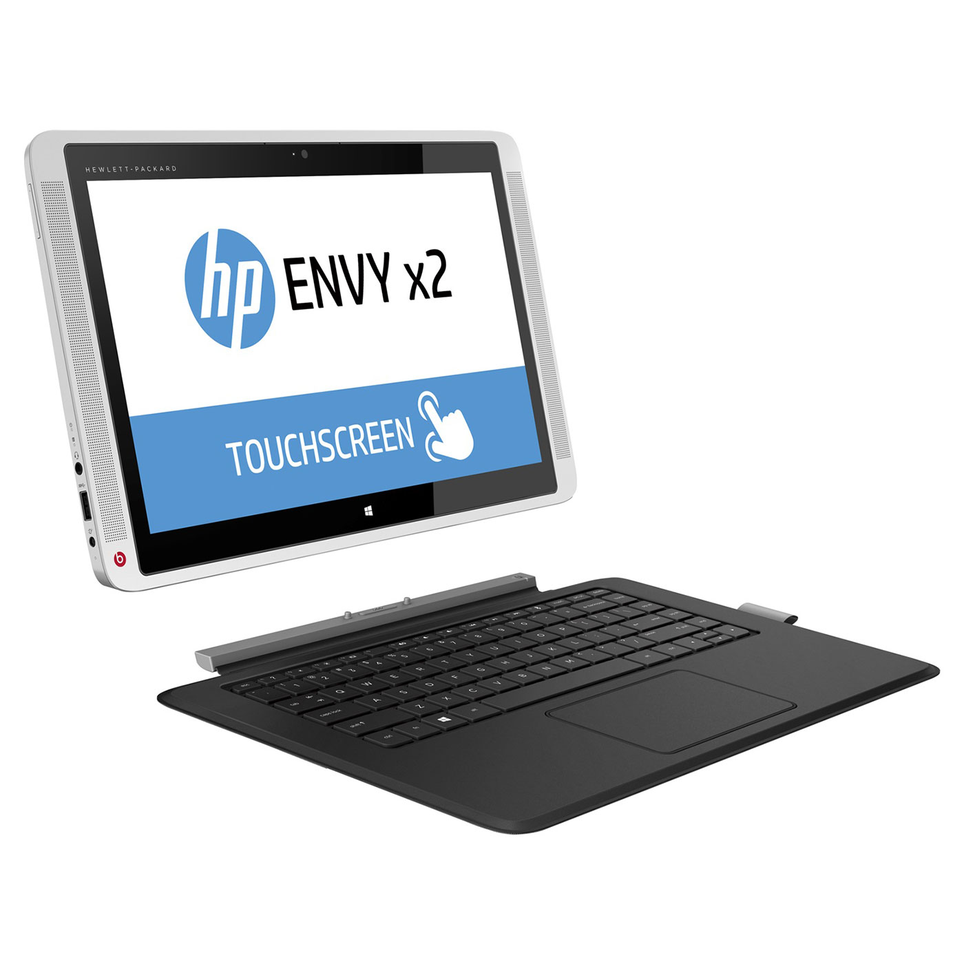 HP ENVY x2 13-j001nf Intel Core M-5Y10 4 Go SSD 128 Go 13.3