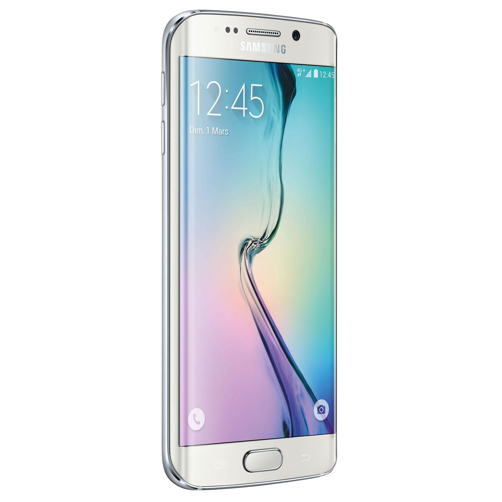Mobile   smartphone Samsung Galaxy S6 Edge SM-G925F Blanc 64 Go Smartphone  4G- e568d9bfb9d6