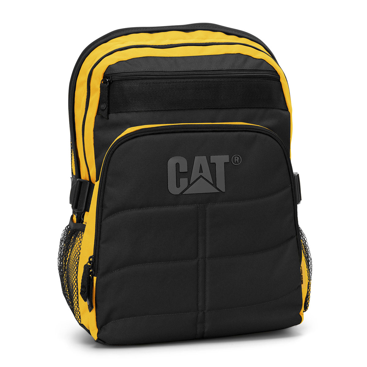 caterpillar cat brent noir jaune sac sacoche housse cat sur. Black Bedroom Furniture Sets. Home Design Ideas