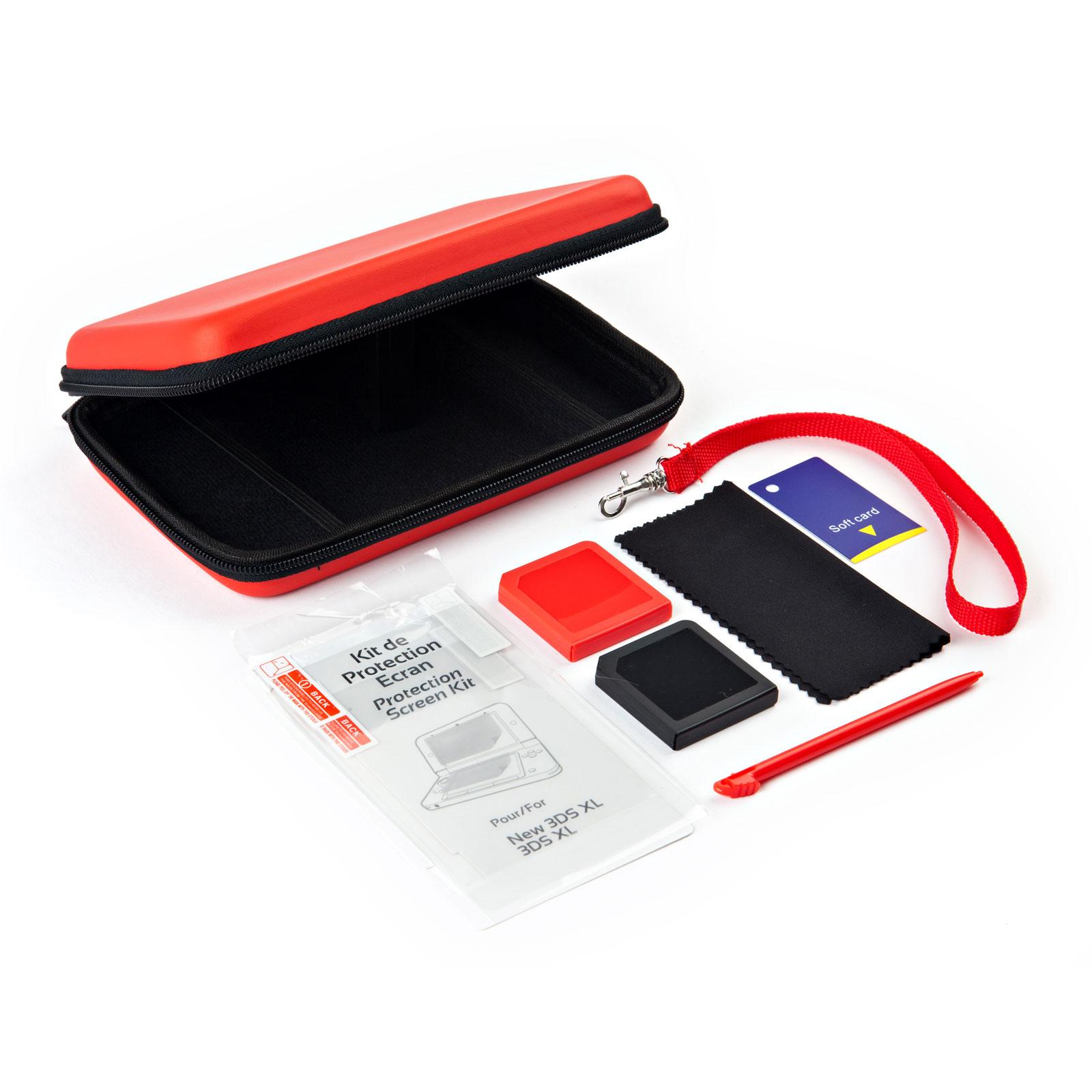 under control starter pack nintendo new 3ds xl rouge. Black Bedroom Furniture Sets. Home Design Ideas
