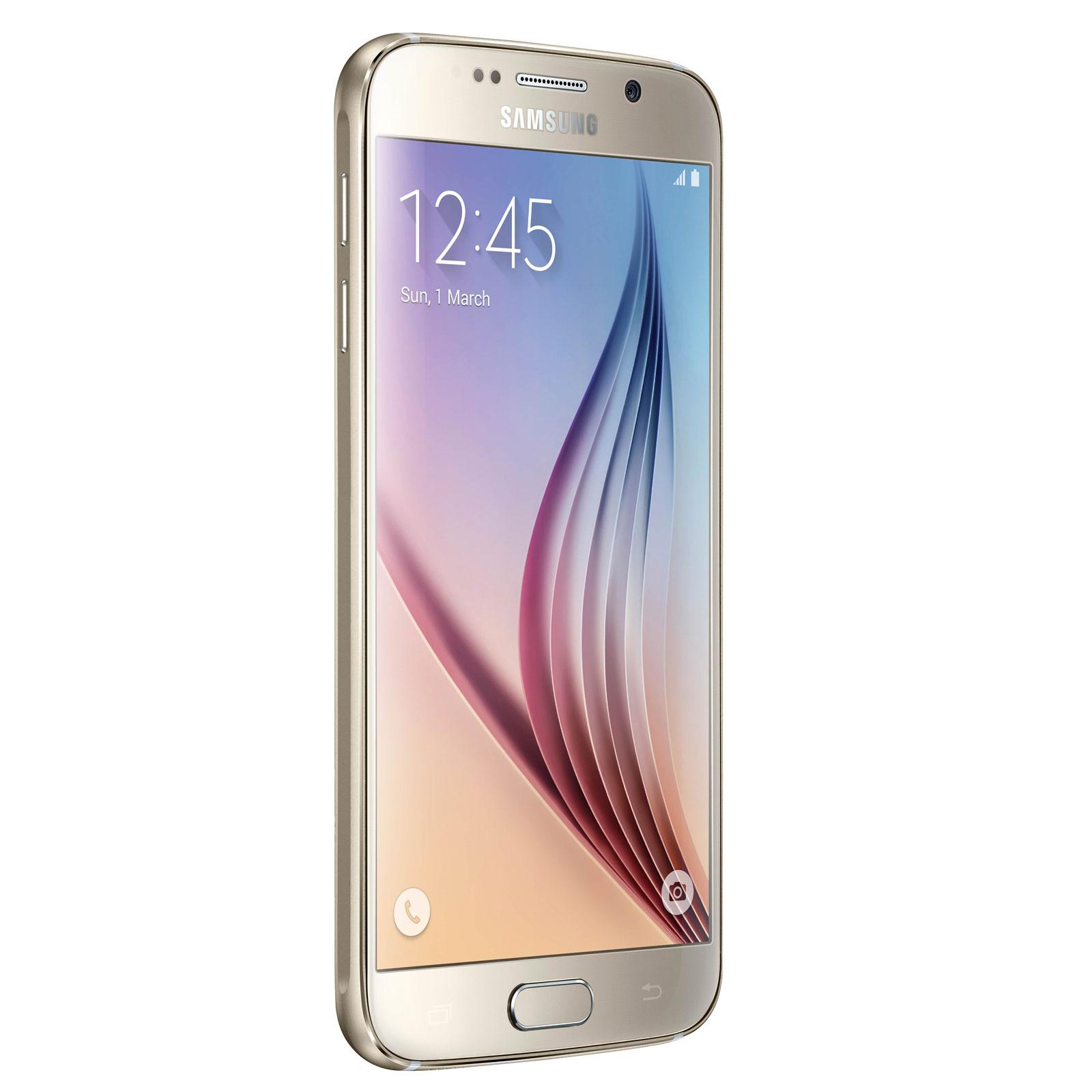 Mobile   smartphone Samsung Galaxy S6 SM-G920F Or 32 Go Smartphone 4G-LTE 41da87a2bf46