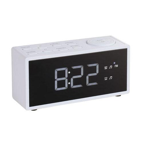 clipsonic ar312w blanc radio radio r veil clipsonic sur. Black Bedroom Furniture Sets. Home Design Ideas