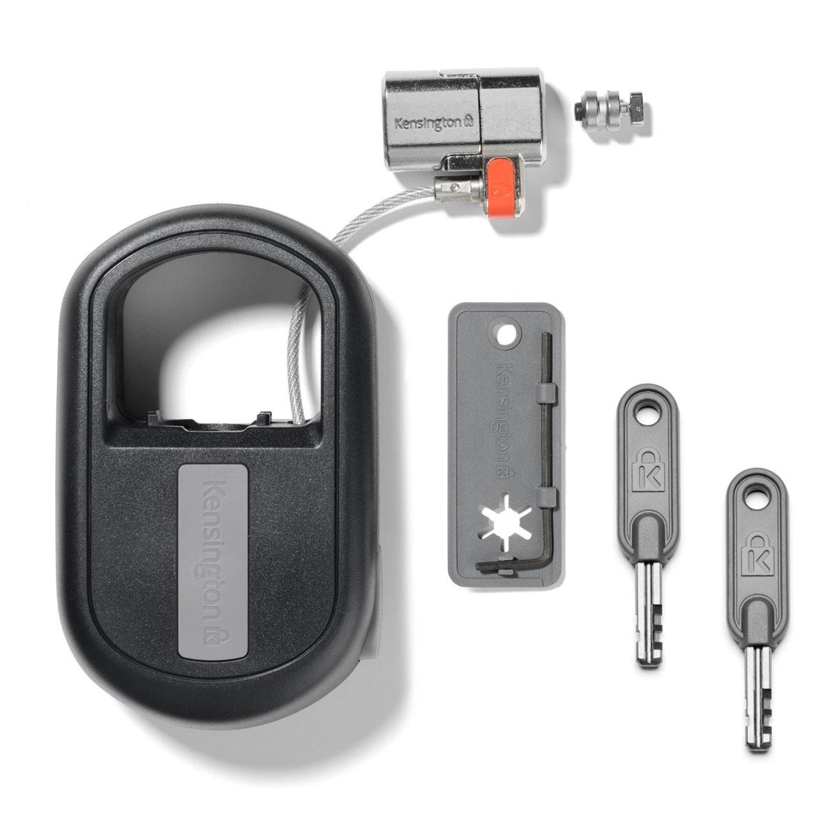kensington clicksafe retractable k64955ww achat antivol pc portable kensington pour. Black Bedroom Furniture Sets. Home Design Ideas