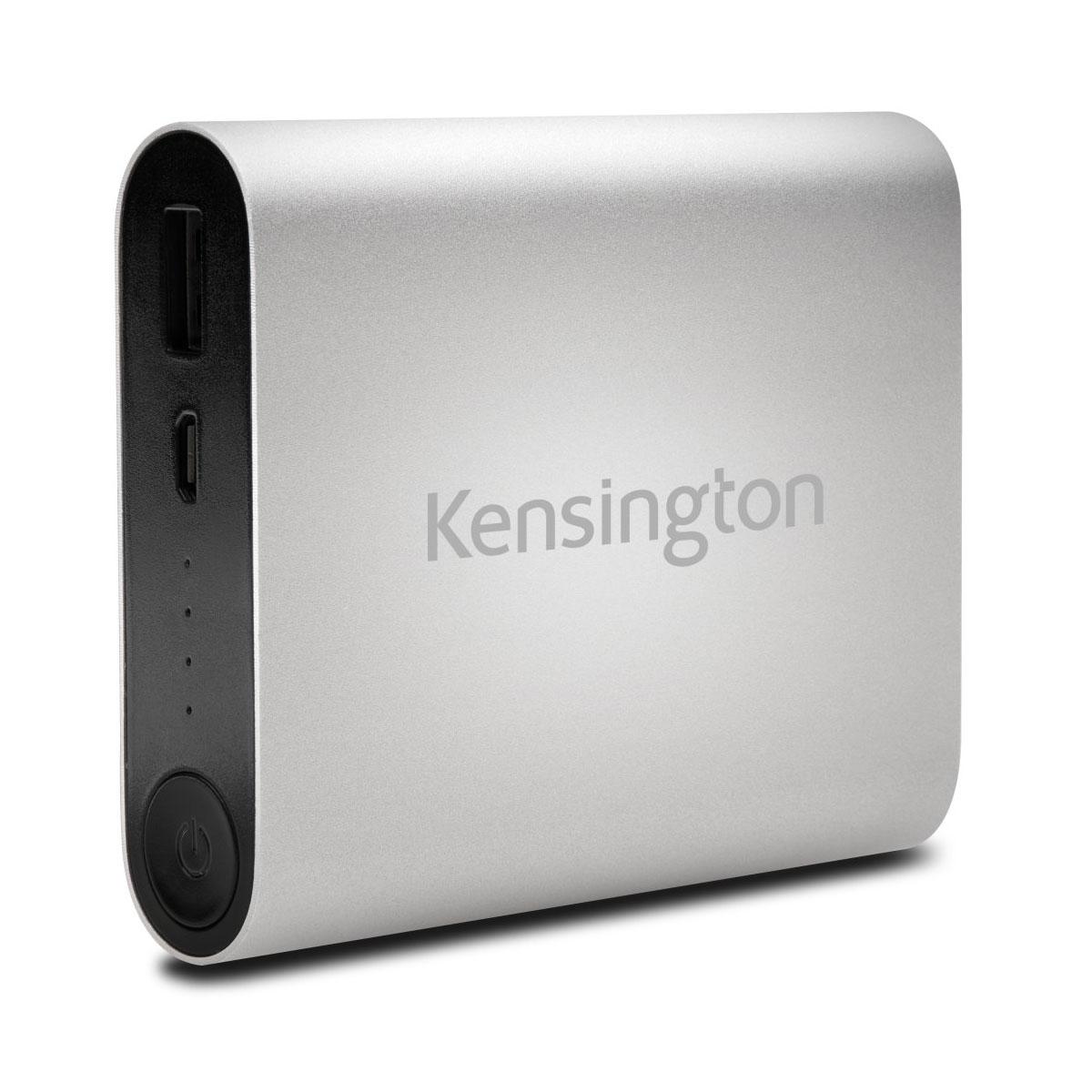kensington power bank 10400 mah batterie externe kensington sur. Black Bedroom Furniture Sets. Home Design Ideas