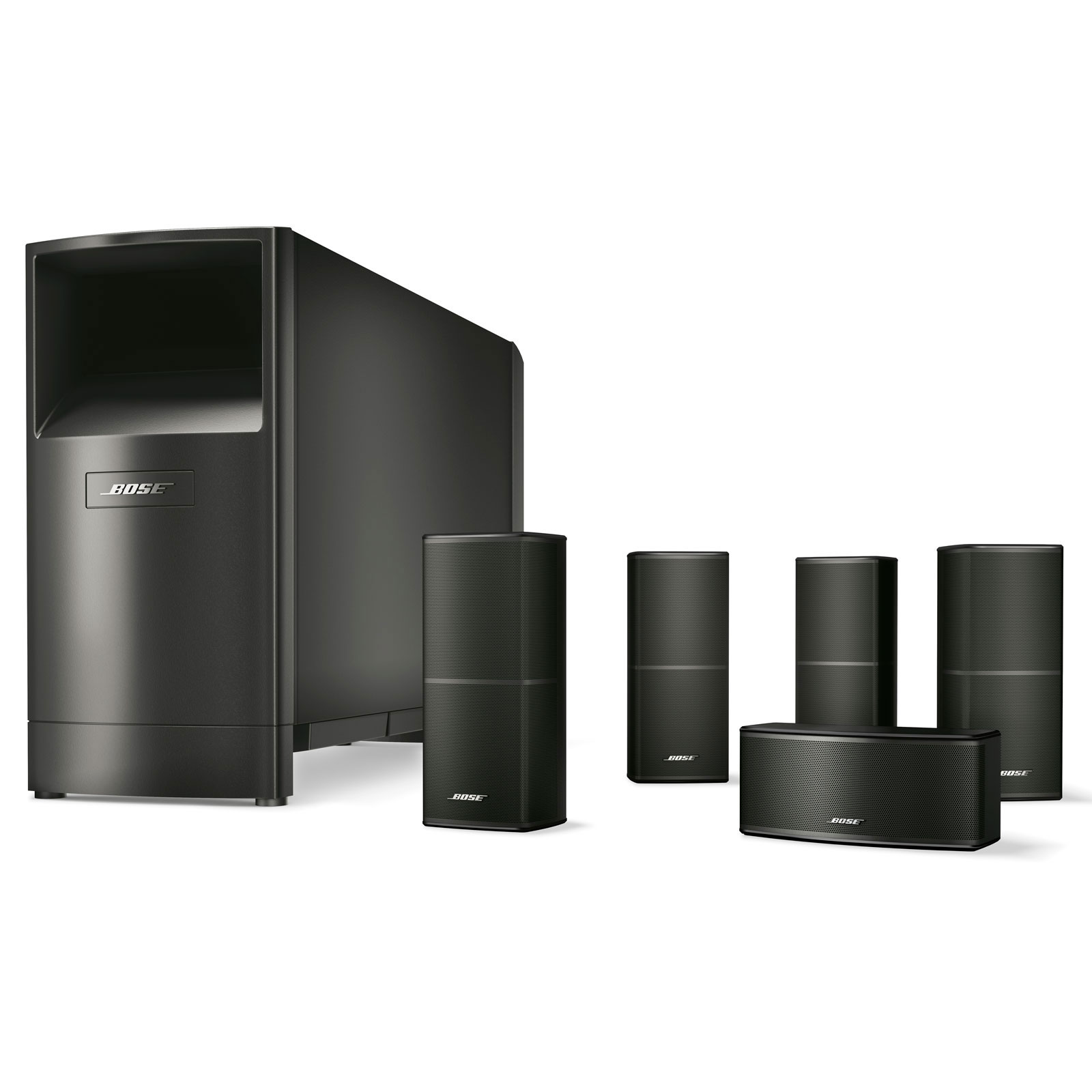 bose acoustimass 10 s ries v noir enceintes hifi bose. Black Bedroom Furniture Sets. Home Design Ideas