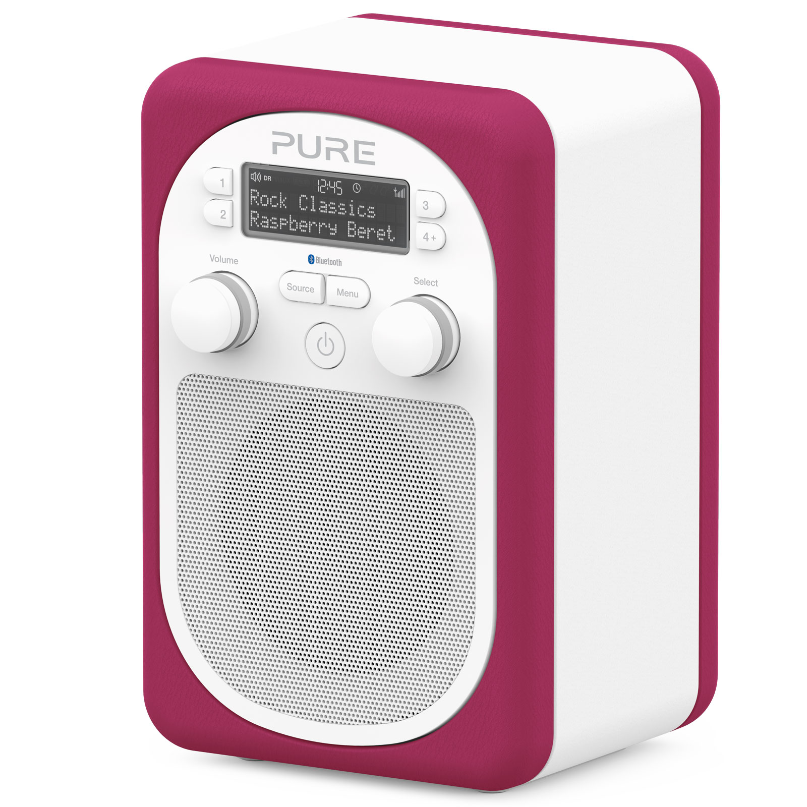 pure evoke d2 mio bluetooth rasberry radio radio. Black Bedroom Furniture Sets. Home Design Ideas