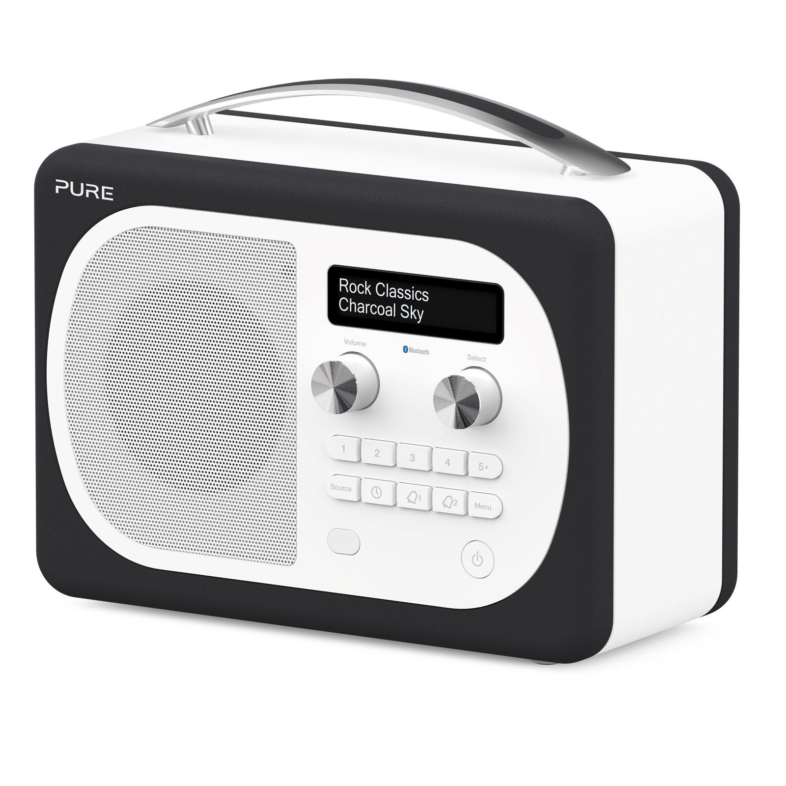 pure evoke d4 mio bluetooth charcoal radio radio. Black Bedroom Furniture Sets. Home Design Ideas