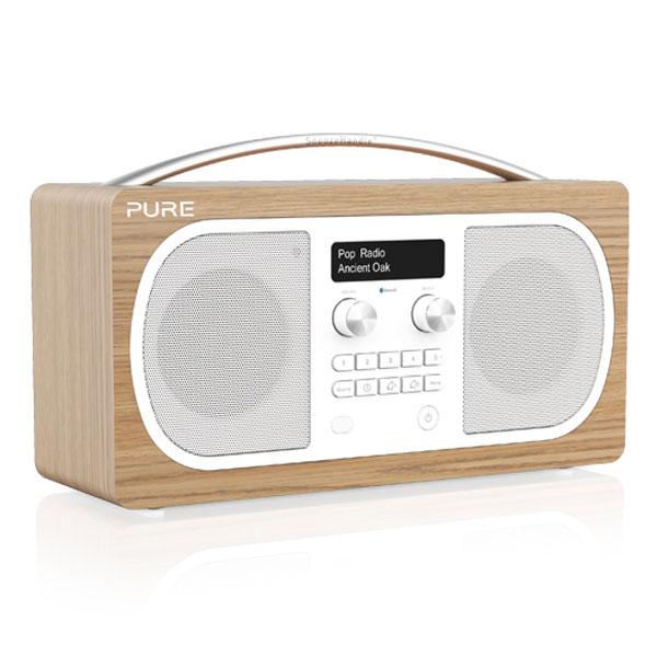 pure evoke d6 oak radio radio r veil pure sur. Black Bedroom Furniture Sets. Home Design Ideas