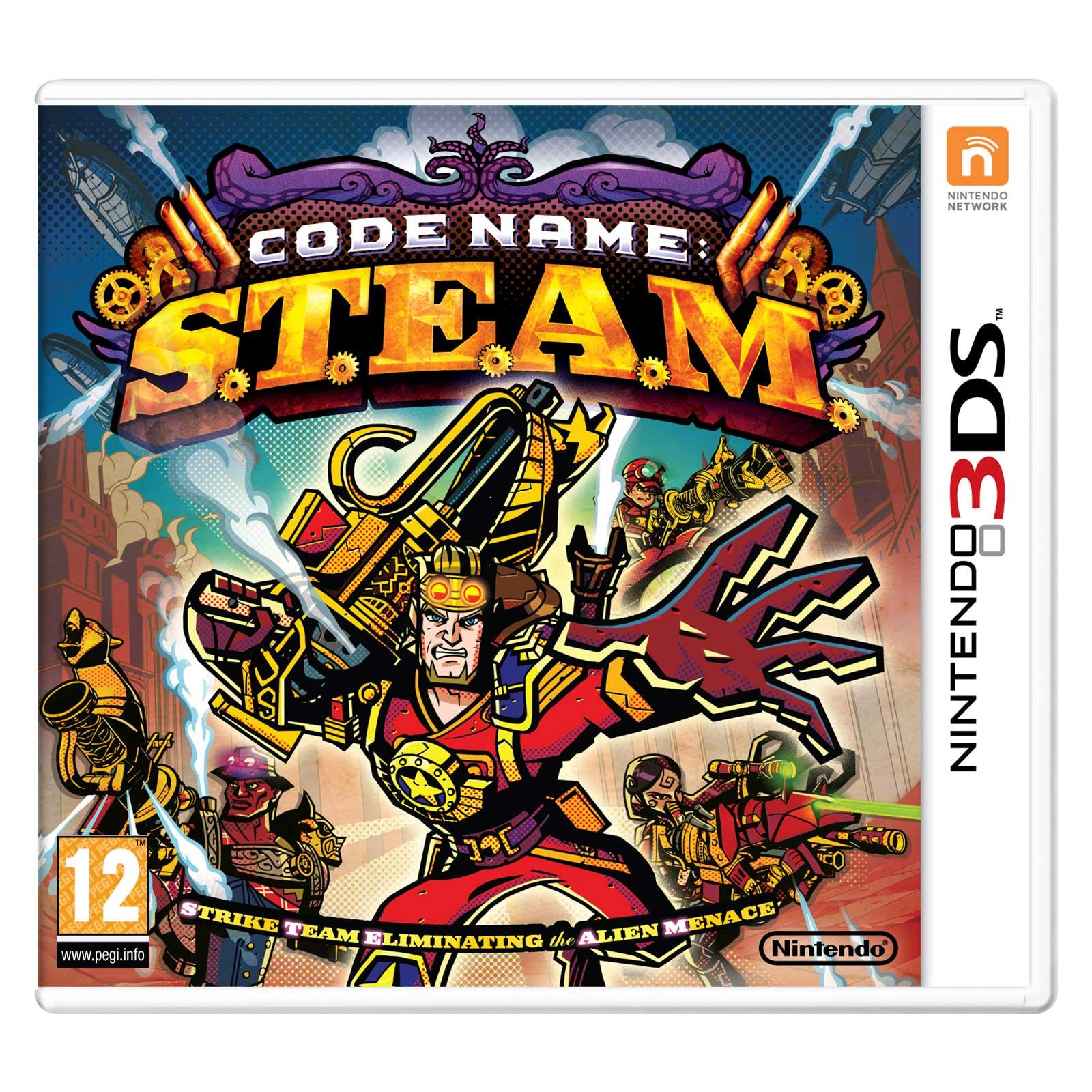Code Name : S.T.E.A.M. (Nintendo 3DS/2DS) - Jeux Nintendo ...