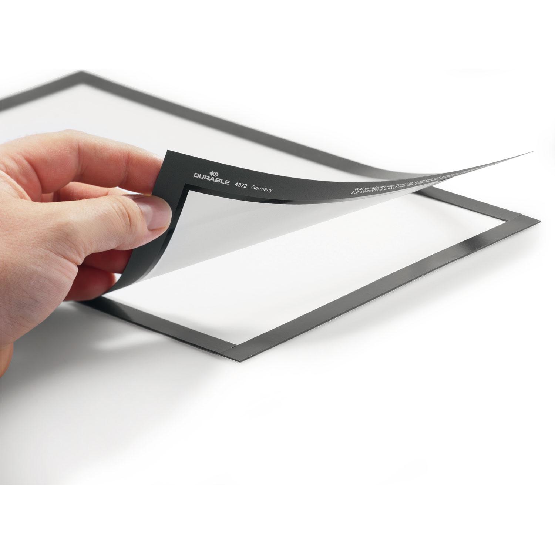 Durable sachet de 2 cadres duraframe a3 noir vitrine et affichage durable sur - Cadre photo a3 ...