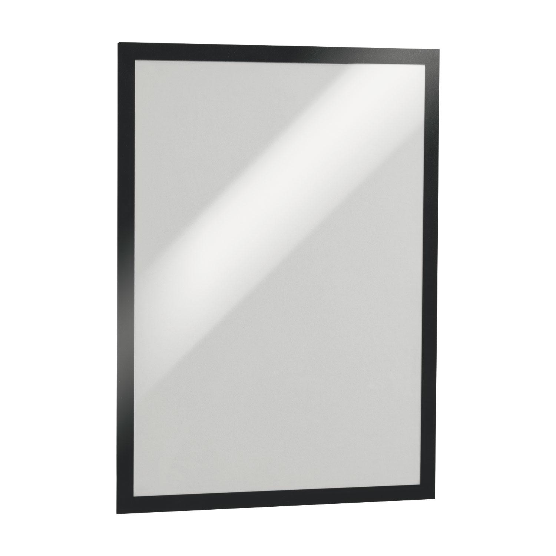 Durable sachet de 2 cadres duraframe a3 noir vitrine et - Cadre format a3 ...