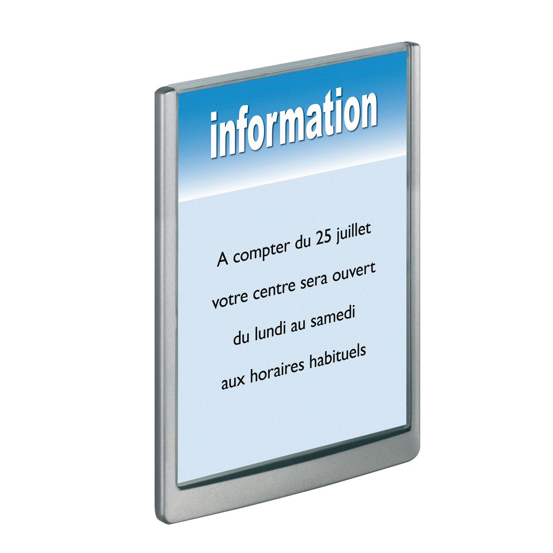DURABLE Plaque De Porte Click Sign Format A Portrait Coloris - Plaque de porte