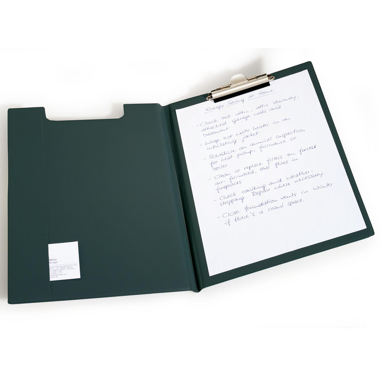 DURABLE Portebloc A Avec Rabat Standard Coloris Noir Bloc Note - Porte bloc note