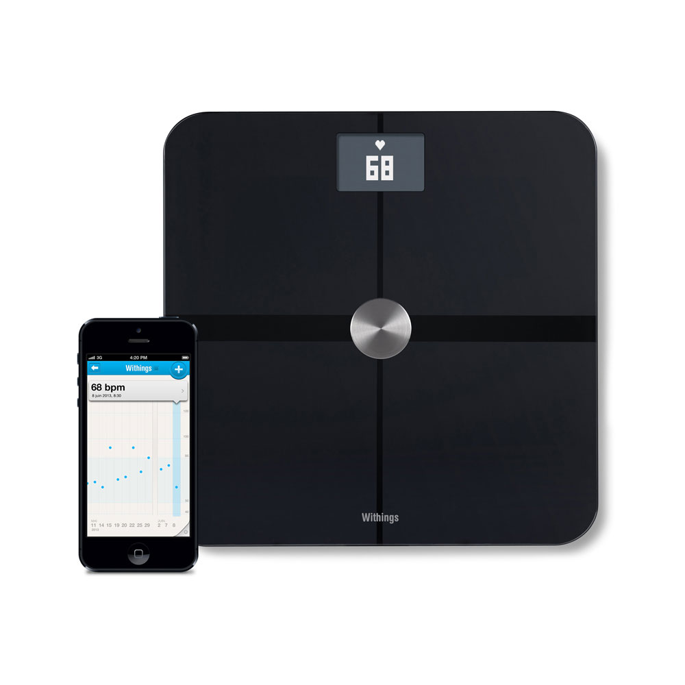 p se personne smart body analyzer ws 50 bracelet connect withings sur. Black Bedroom Furniture Sets. Home Design Ideas