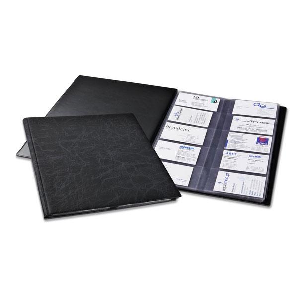 DURABLE Reliure VISIFIX Format A4 Pour Cartes De Visite Capacite 400 Coloris Noir