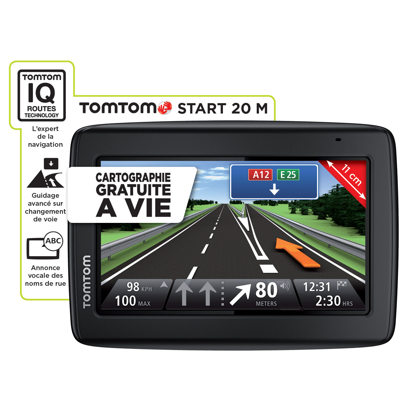 tomtom start 20 m gps tomtom sur. Black Bedroom Furniture Sets. Home Design Ideas