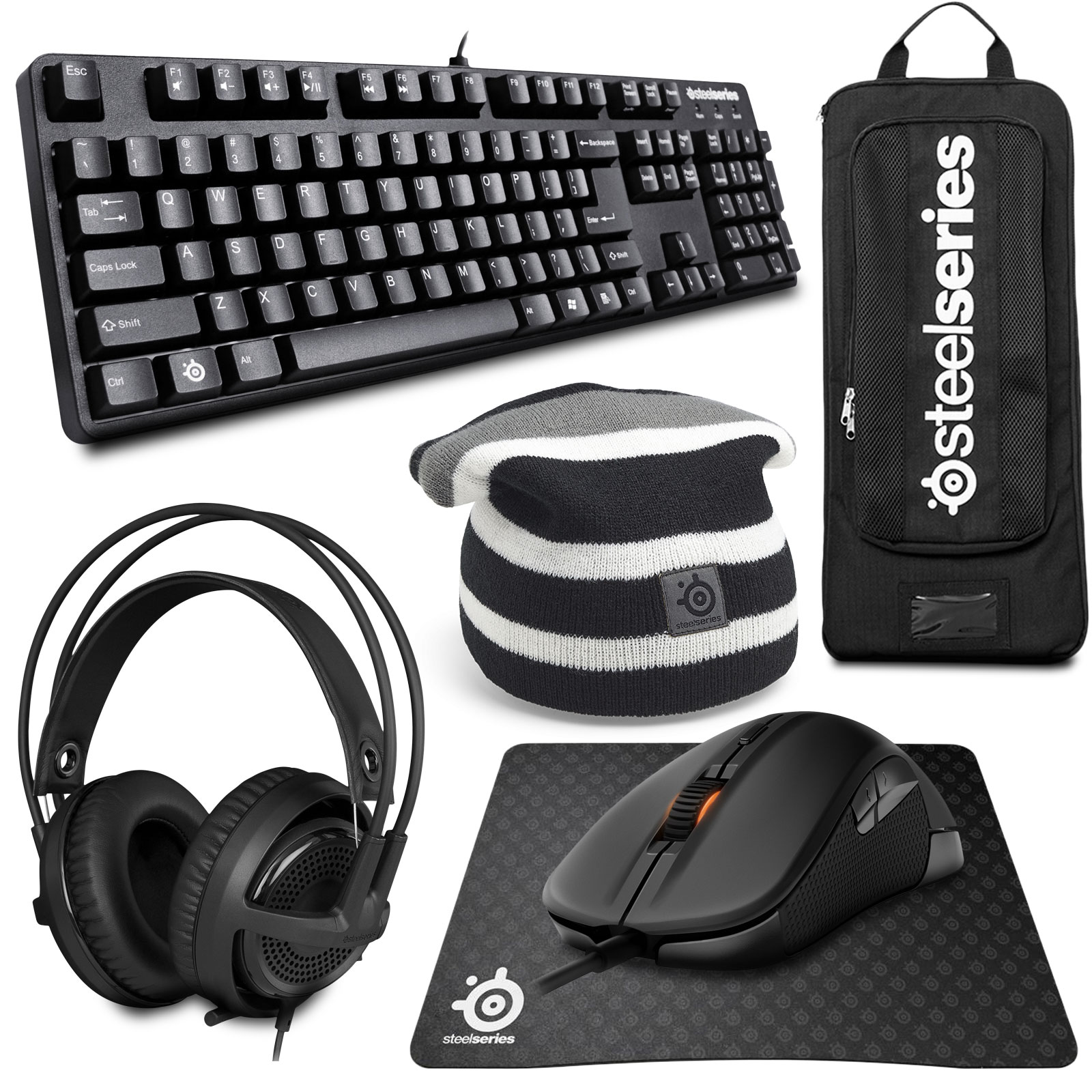 steelseries gaming pack silver edition pack clavier. Black Bedroom Furniture Sets. Home Design Ideas
