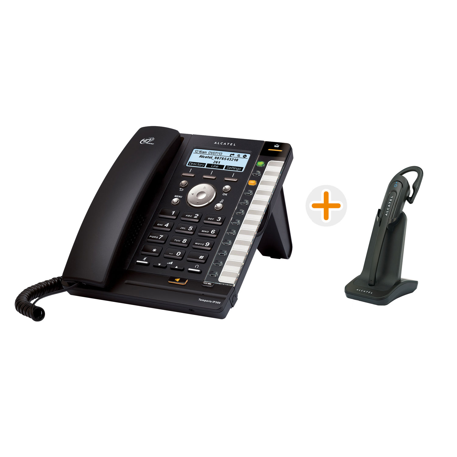 alcatel temporis ip370 t l phonie voip alcatel sur. Black Bedroom Furniture Sets. Home Design Ideas