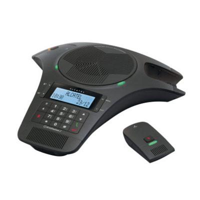 Téléphone filaire Alcatel Conference 1500 Système d'audio conférence avec 2 micros pour salle de réunion